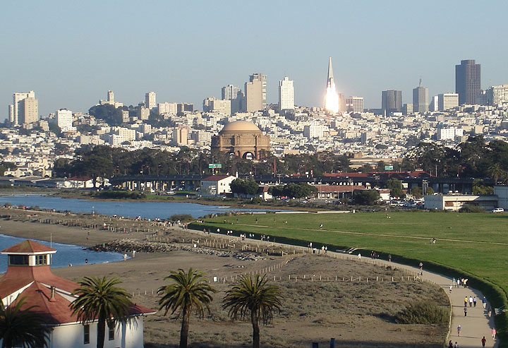File:Palace-of-Fine-Arts-w-sun-hitting-Pyramid-in-background 8050.jpg