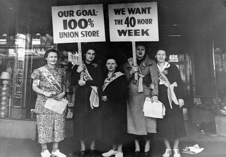 File:Women-pickets-for-40-hr-week-and-union-store.jpg