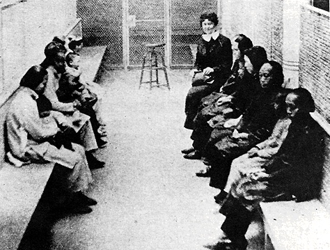 Detainees on Angel Island were kept apart by gender, and passed many ...