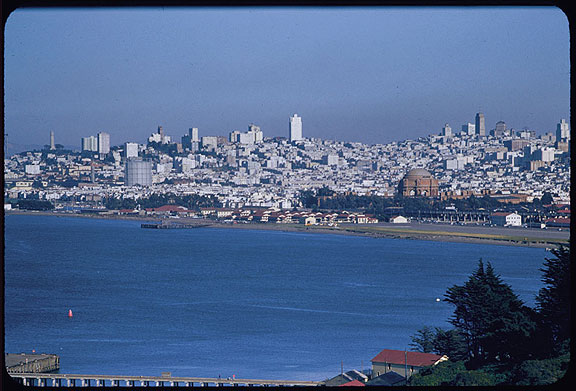 Image:Cushman-March-27-1956-from-GGBridge-over-Crissy-Field-and-city-w-gas-tank-P08600.jpg