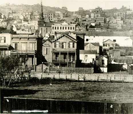 1864 View of Taylor Street at top of Nob Hill from Turk Street AAB-5529.jpg