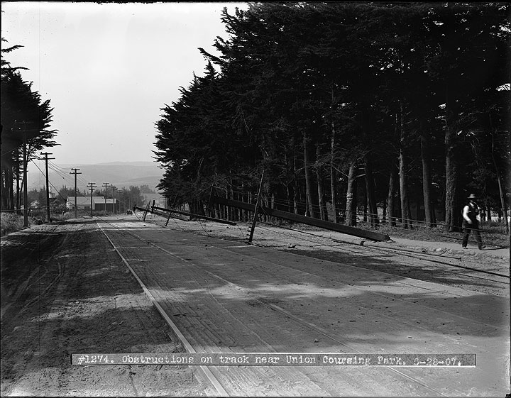 Powerlines-Obstructing-Track-on-Mission-Street-Near-Union-Coursing-Park- May-28-1907 U01274.jpg