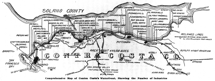 Oakland Rising The Industrialization Of Alameda County FoundSF - Us lumber industry map 1900