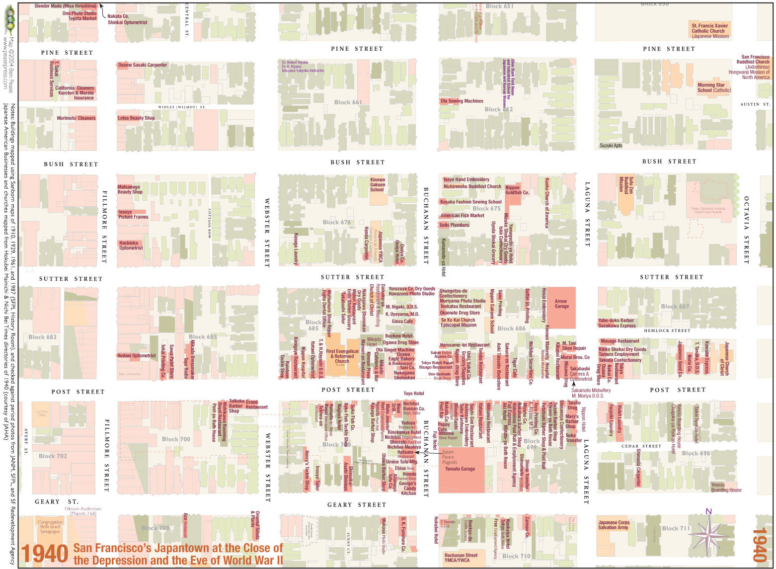 File Japantown 1940 Map Jpg Foundsf