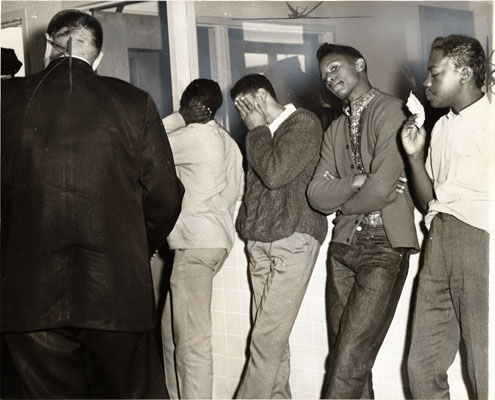 Youths arrested during Freedom March 1963 AAK-0876.jpg