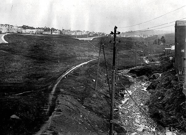 Islais Creek in 1910