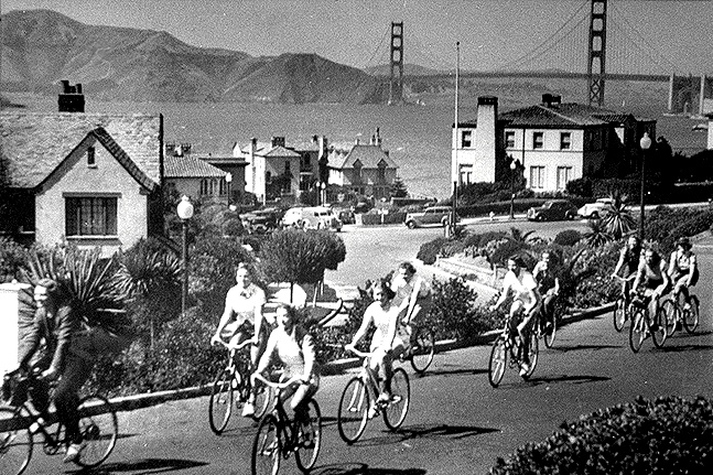 Richmond$seacliff$bikes itm$bikes-in-1958-w-gg-bridge.jpg