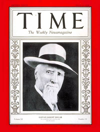 File:Robert Dollar on TIME Magazine, March 19, 1928.jpg