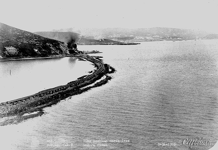 Bay Shore R. R. View looking North from Sierra Point. March 31, 1905 11-southern-pacific-company viewfromsierrapt-3-31-1905.jpg