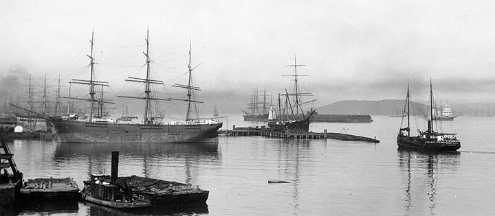 Arctic-Oil-Works-from-shore-w-steam-schooner-Point-Arena-and-tug-Governor-Tilden-A11.22.463.1n.jpg