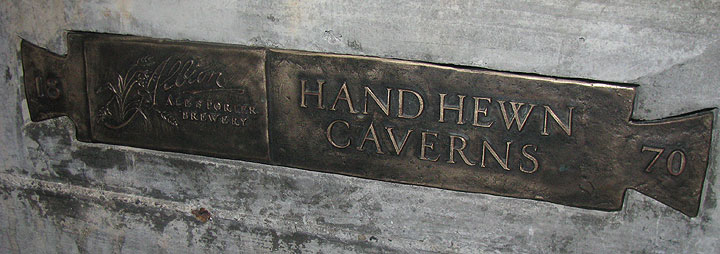 Albion-hand-hewn-cavern-sign 5843.jpg