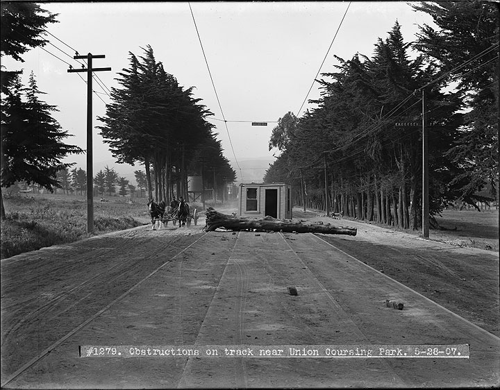 Obstructions-on-Mission-Street-Track-in-Daly-City-From-Labor-Strike-Action- -May-28-1907 U01279.jpg