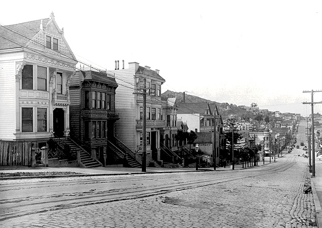 Above 19th looking north on Castro c. 1901. Photo: Private Collection ...