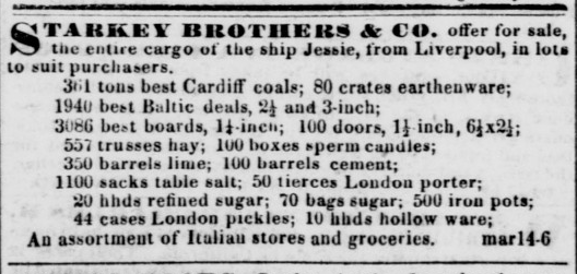 Daily Alta California March 14, 1851, Vol. 2, No. 95 Jessie.png