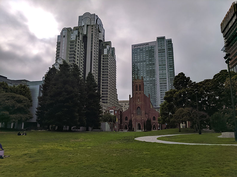 File:YBC-lawn-w-St-Patricks-Marriott-and-Luxury-Tower 20190707 175514.jpg
