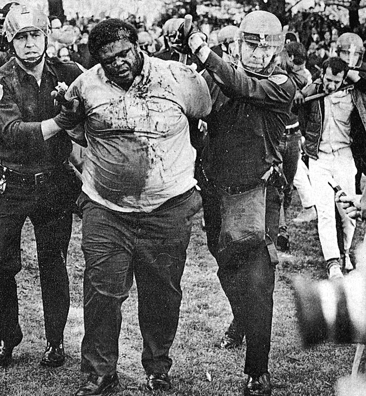Image:Don-McAllister-bleeding-in-police-custody-SF-State-1968-photo-by-Terry-Schmitt.jpg