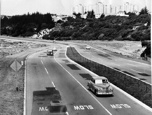 Brotherhood Way between Junipero Serra and Lake Merced boulevards June 10 1961 AAB-2981.jpg