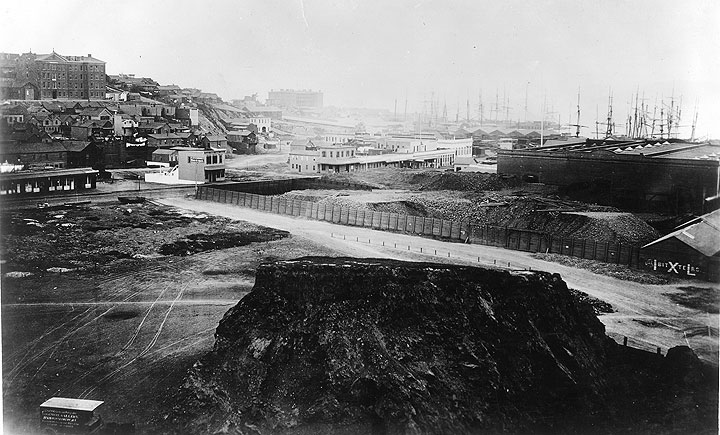 Image:Carleton-watkins-sf-waterfront-w-hospitals-panel-1-of-two-panel-panorama-CHS2010.289.jpg