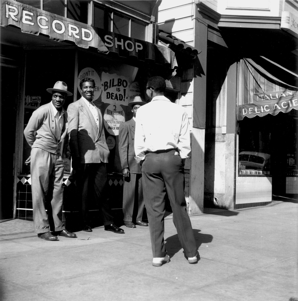File Melrose Record Shop At 1226 Fillmore St C 1950 By