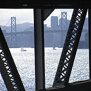Baybridge-thru-old-east-span-to-west-and-SF 5288 180px.jpg