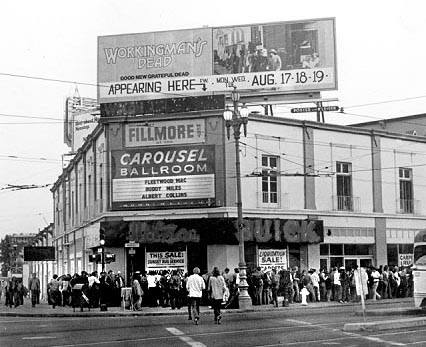 Fillmore West at Van Ness and Market 1970 via Isabella Acuña FB.jpg