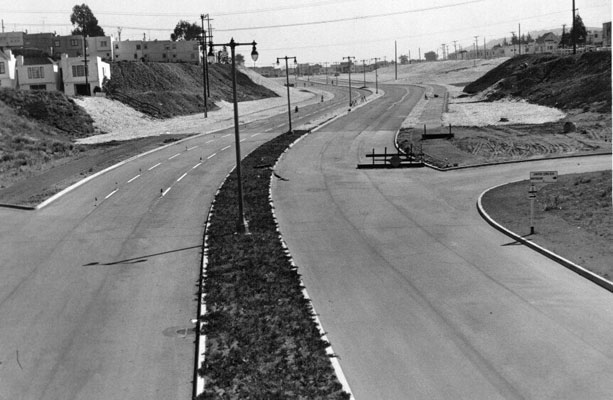 Stanley Drive linking Alemany and Lake Merced Boulevard April 2 1953 AAB-5366.jpg