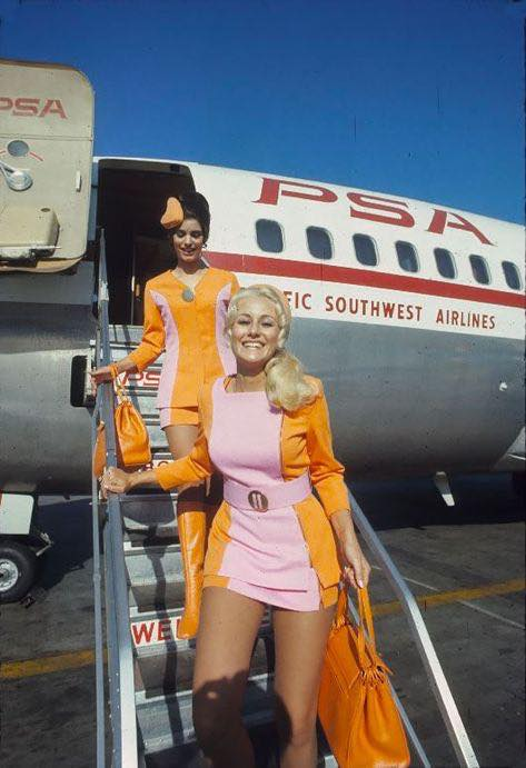 PSA stewardesses c 1970s via Kim Lee FB.jpg