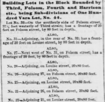 Daily Alta California March 15, 1857 Louise Street.jpg