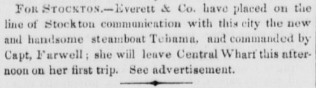 Daily Alta California July 3, 1850, Vol. 1, No. 159 Tehama.png