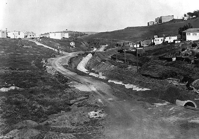 Islais Creek in 1930