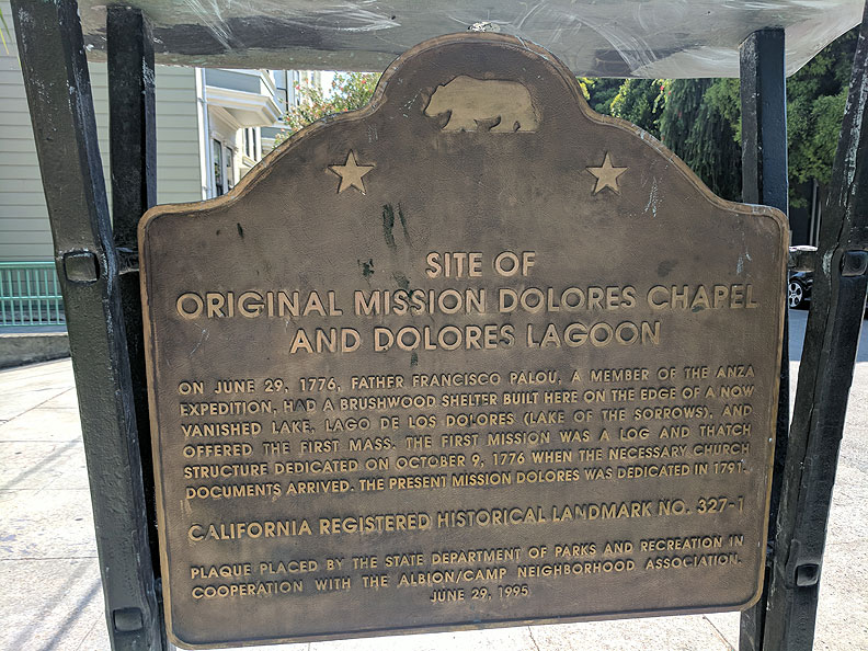 Original-Site-of-Mission-Dolores-Plaque-on-Camp-and-Albion 20170818 144121.jpg