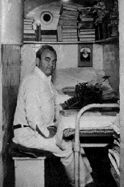 Tom Mooney in his cell in San Quentin (c. 1932)