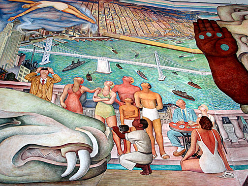 Pan american unity foundsf for Diego rivera pan american unity mural