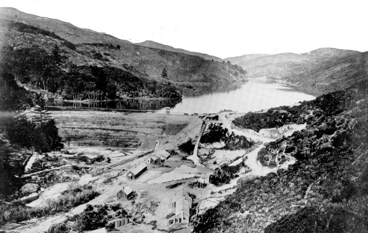 Image:Pilarcitos dam winter1866-67.jpg