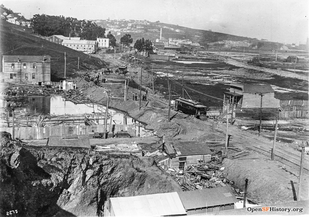 March 4 1915 Islais Creek San Bruno nr Cortland (sunken street) dpwbook11 dpw2275 wnp36.00732.jpg