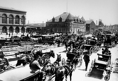 the early transportation during the 19th century Another key to the rapidly changing economy of the early industrial revolution were new an improved transportation system was in the early 19th century.