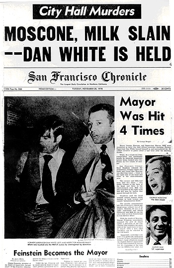 Image result for Van Amburg Milk Moscone murders KGO youtube