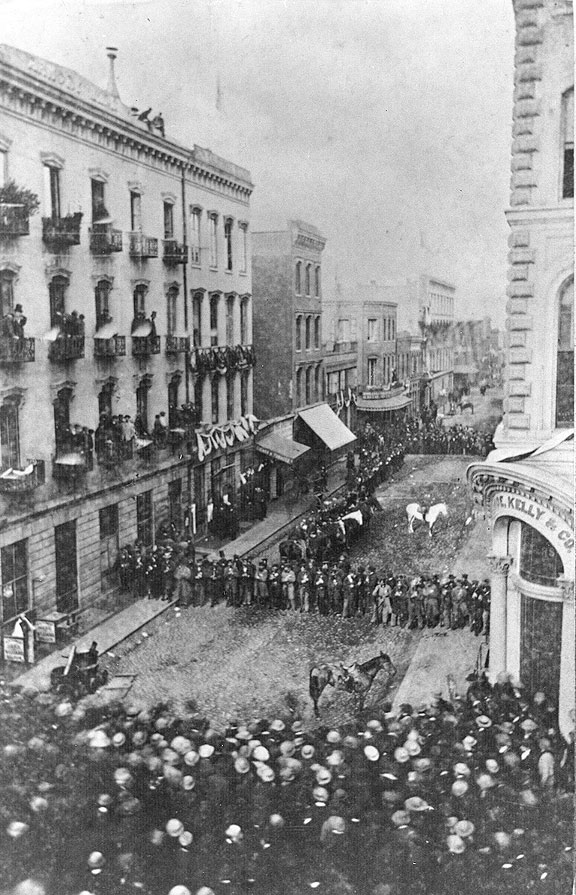 Civil War In Downtown Sf 1860s Foundsf