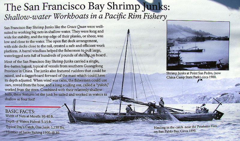 File:SF-Bay-Shrimp-Junks-explanation-and-display 2839.jpg