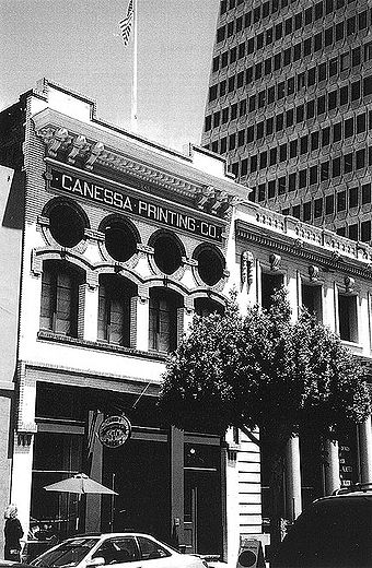 Photo of Canessa Building by Marjorie Cahn