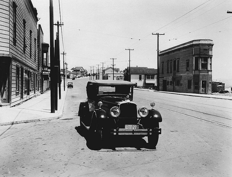 File:San-Jose-Ave-northwest-at-Sickles-SPRR-runs-to-right-now-I-280-1926.jpg