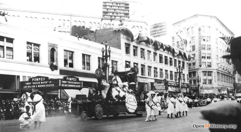 File:Waitress Union marchers in Labor Day Parade, September 7, 1925 Courtesy of a Private Collector wnp5.50586.jpg
