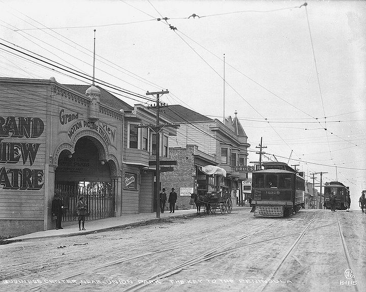 Cemeteries-streetcars-in-Daly-City-at-Grand-View-Theatre-near-Union-Park-c-1910.jpg
