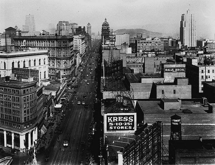 Market-St-east-from-above-Mason-w-Native-Sons-monument-sept-29-1927-SFDPW.jpg