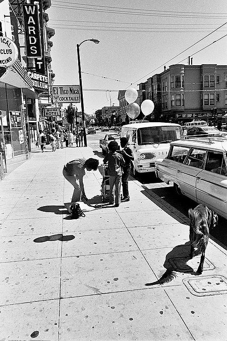 Mission-Street-south-from-near-23rd-El-Tico-Nica vertical 1464 Chuck-Gould.jpg