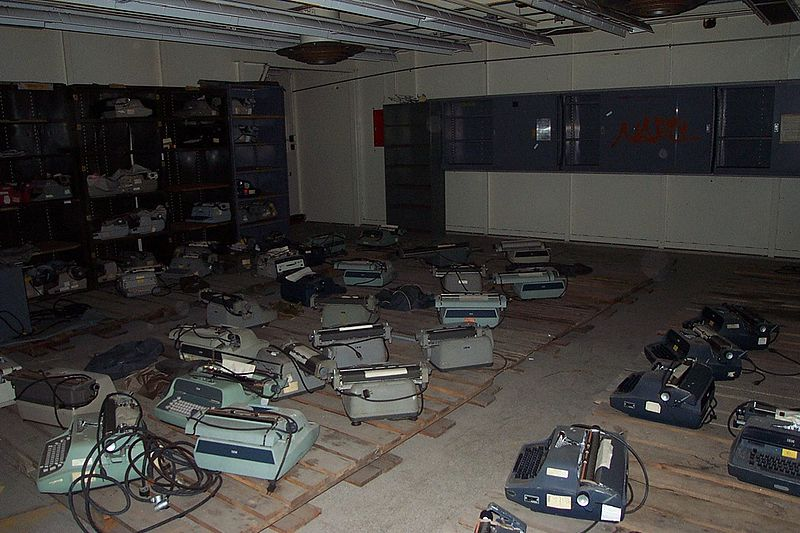 File:Dead typewriters in cryptography lab 2266018 7391c60a9e o.jpg