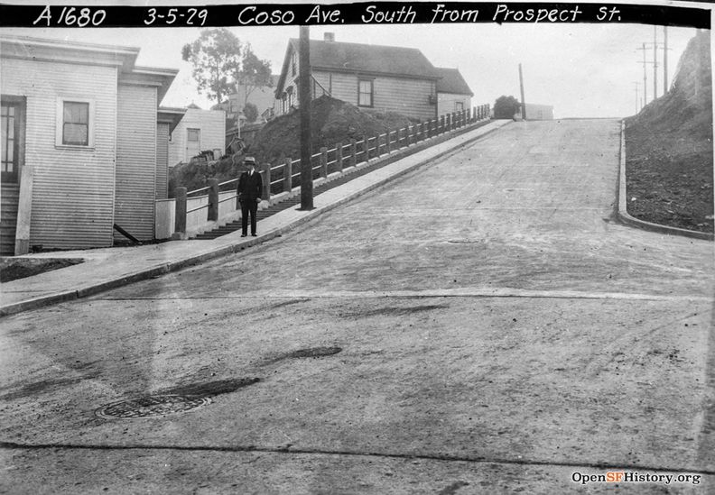 March 5 1929 Coso (steep hill) from Prospect dpwbookSPECIMP16 dpwA1680 wnp36.04241.jpg