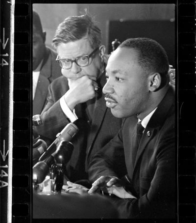Dr Martin Luther King at Grace Cathedral with Bishop James Pike May 29 1964 BANC PIC 2006.029 138917.01.13--NEG.jpg