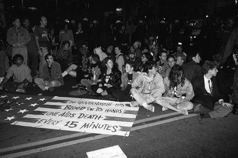 Castro Sweep sit in 10-6-89.jpg