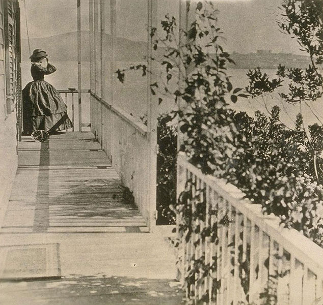 File:Mrs.-General-Fremont-at-her-home-on-Black-Point-now-Fort-Mason,-about-1863.jpg